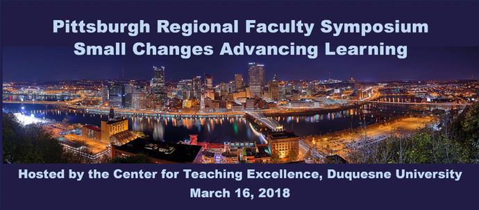 Pittsburgh Regional Faculty Symposium